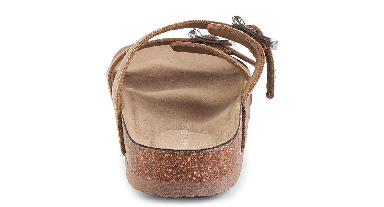 MADDEN GIRL Womens Brando Footbed Sandal - TAUPE