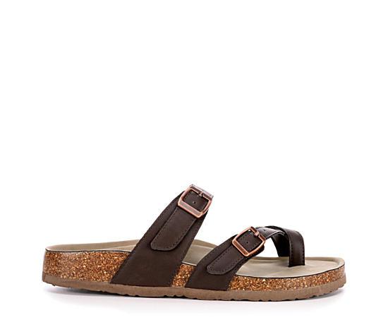 Womens Bryceee Footbed Sandal