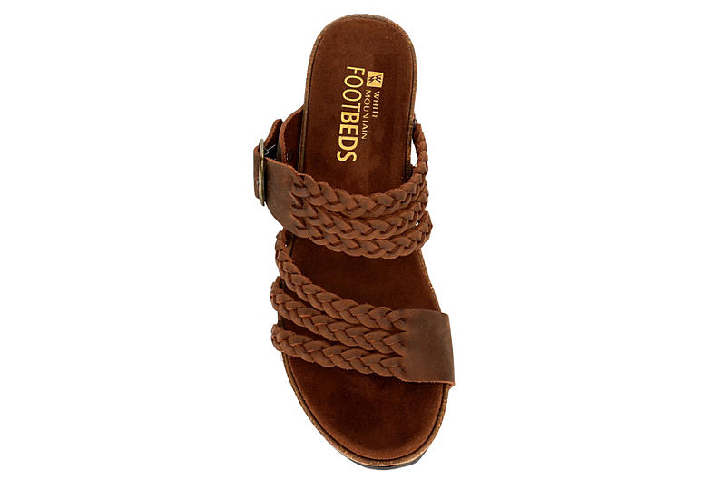 WHITE MOUNTAIN Womens Chantilly - BROWN