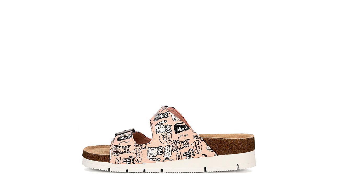 SKECHERS BOBS Womens Bohemian Quote Me - PINK