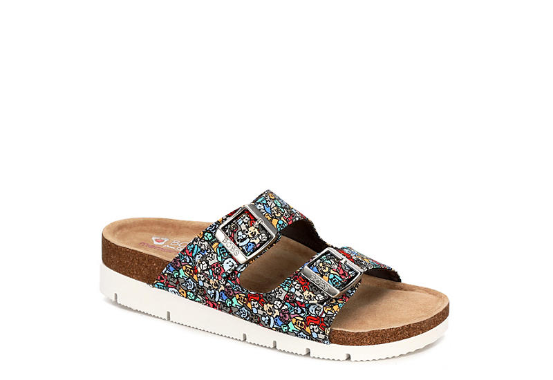 7ed1e2835037 Skechers Bobs Womens Bohemian Quote Me - Multicolor