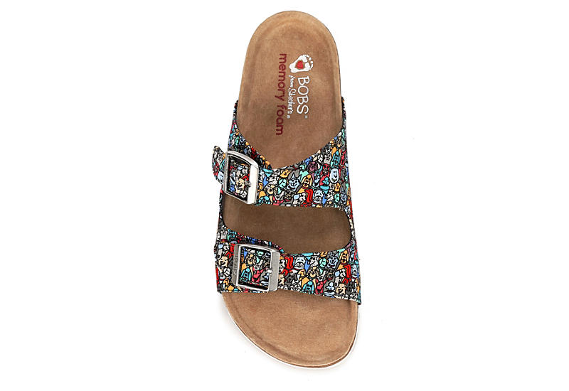 SKECHERS BOBS Womens Bohemian Quote Me - MULTICOLOR