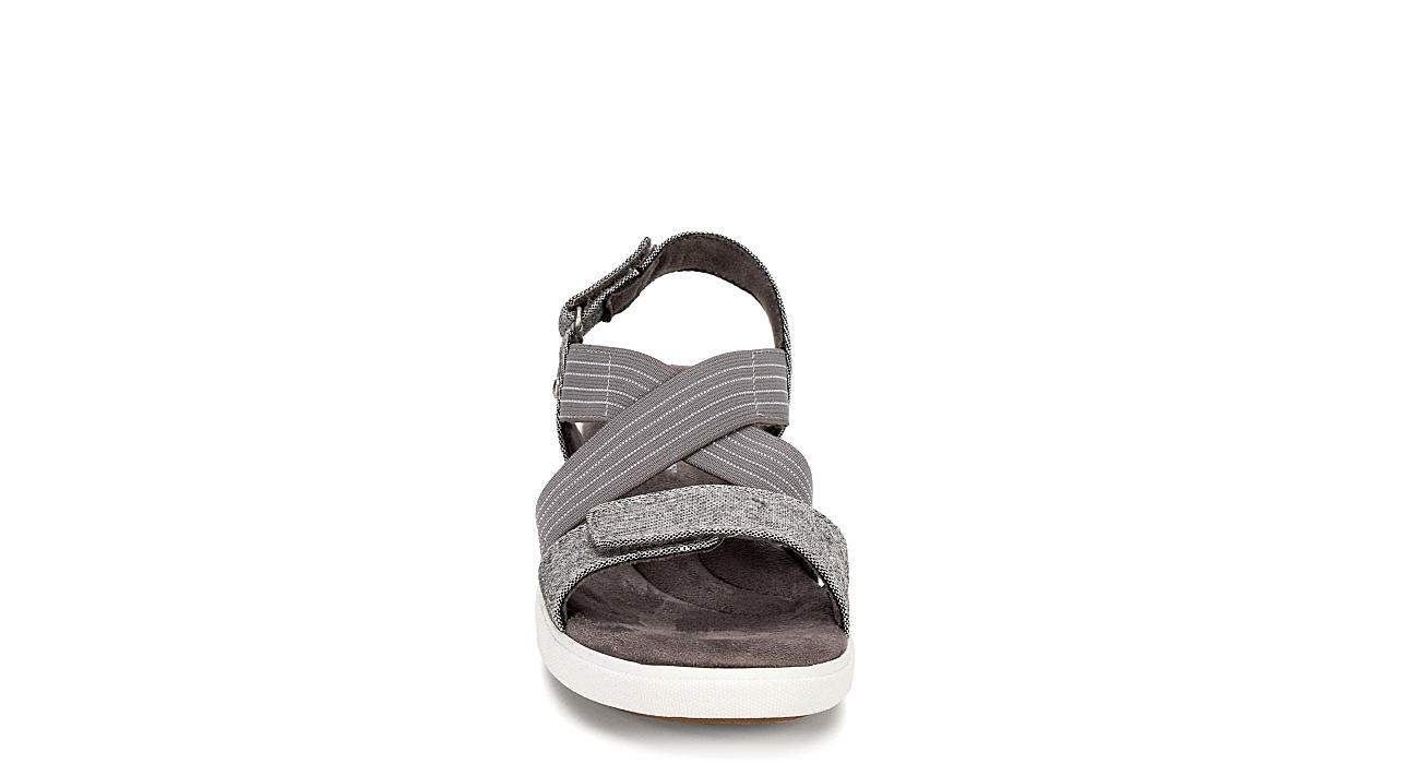 GRASSHOPPERS Womens Leah Sandal - GREY