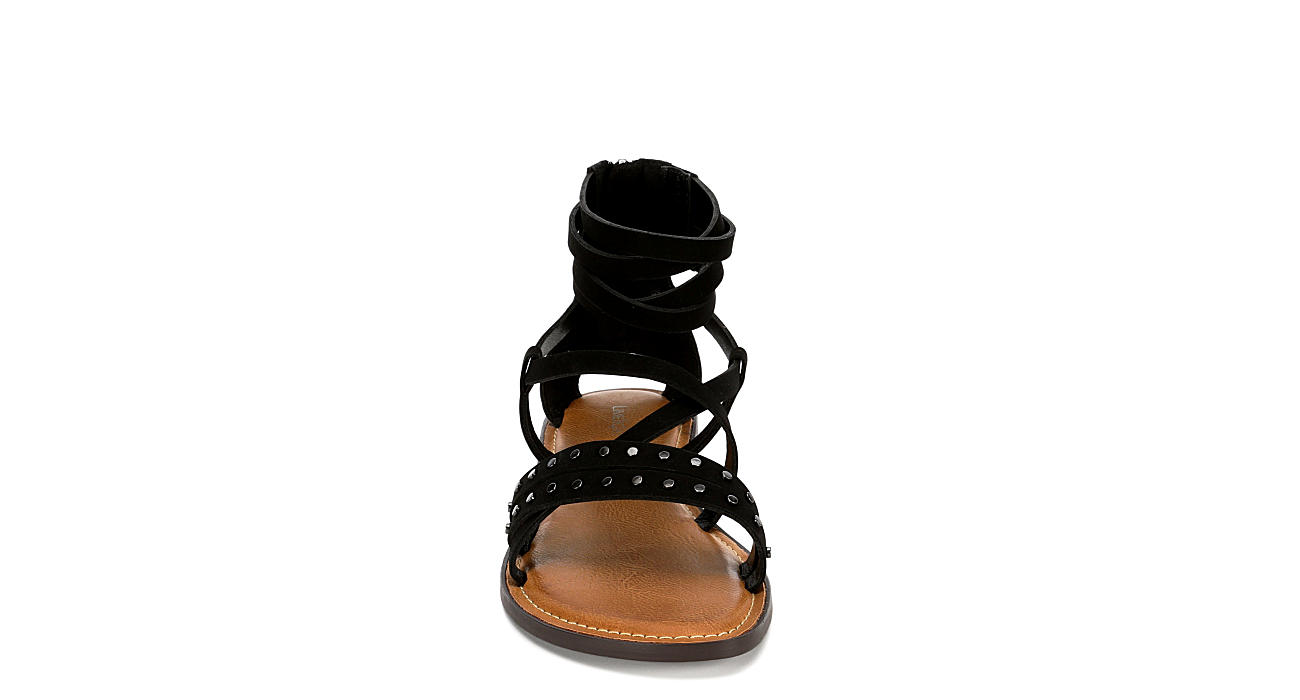 LIMELIGHT Womens Sabrina Gladiator Sandal - BLACK