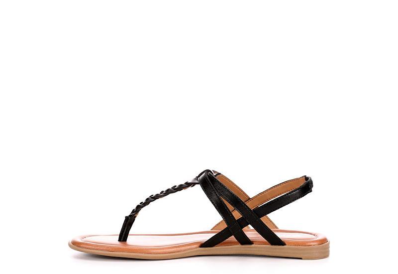 XAPPEAL Womens Maxie Sandal - BLACK