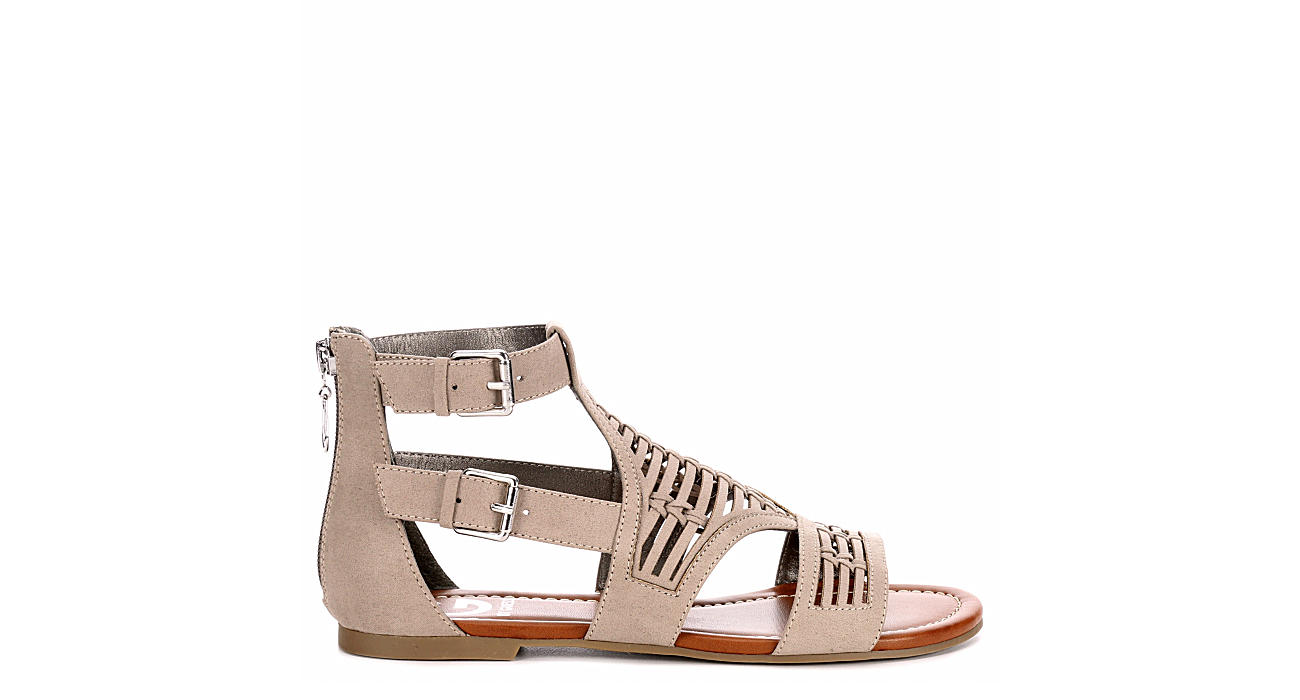 G by GUESS Up The Front Side Zip Sandal