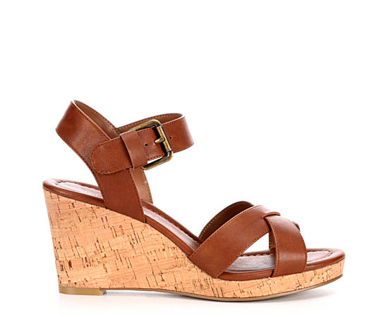 Women S Wedge Sandals Rack Room Shoes