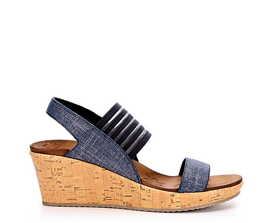Womens Smitten Kitten Wedge Sandal