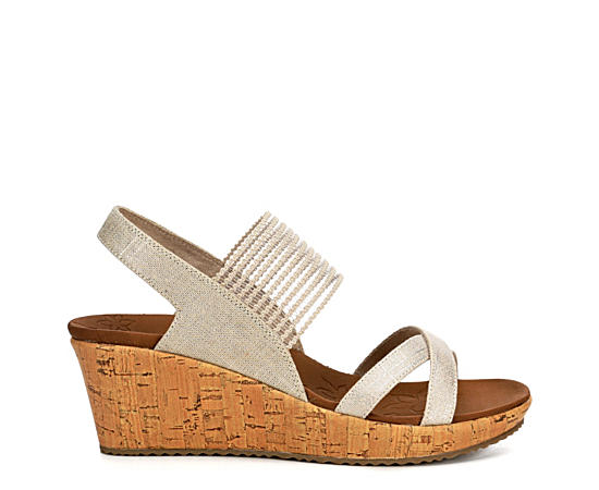 Womens High Tea Wedge Sandal