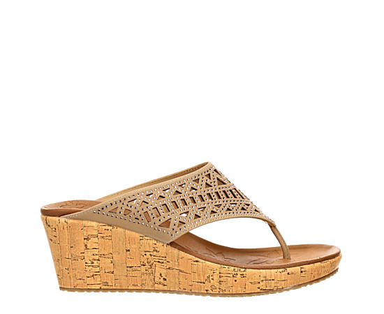 Womens Summer Visit Wedge Sandal