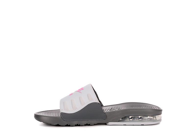 NIKE Womens Air Max Camden Slide Sandal - GREY