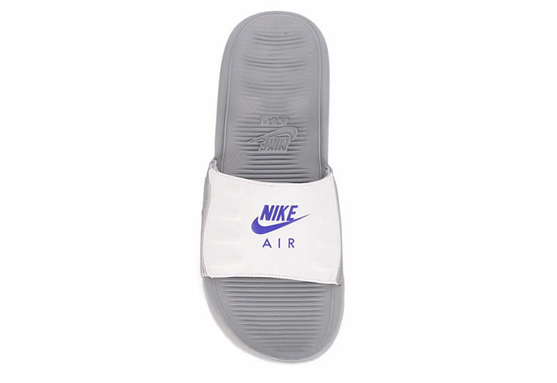 NIKE Womens Air Max Camden Slide Sandal - GREY