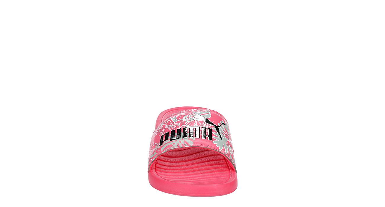 PUMA Womens Popcat Slide Sandal - PINK