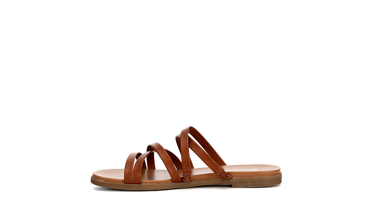 XAPPEAL Womens Cambria Slide Sandal - COGNAC