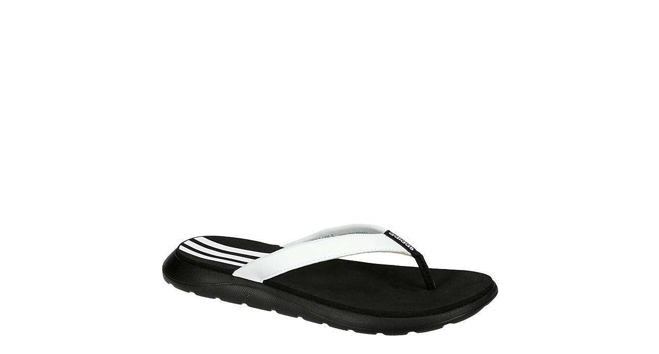ADIDAS Womens Comfort Flip Flop - BLACK