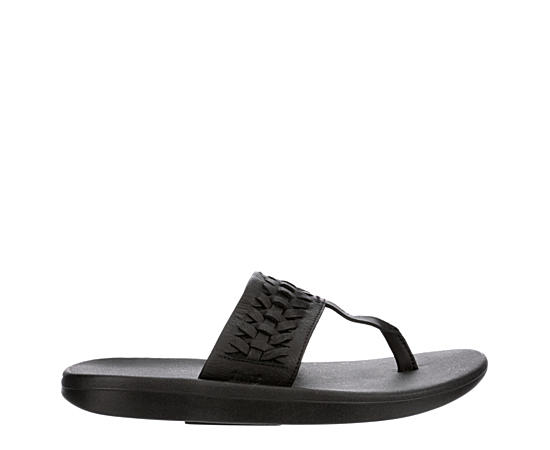 Womens Bella Kai Woven Flip Flop Sandal