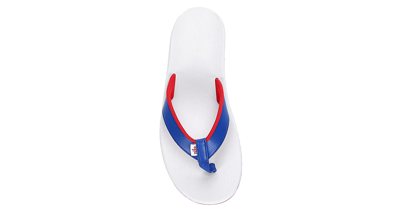 NIKE Womens Bella Kai Flip Flop Sandal - BRIGHT BLUE