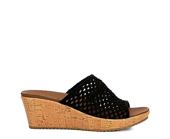 Womens Golden Sky Wedge Sandal