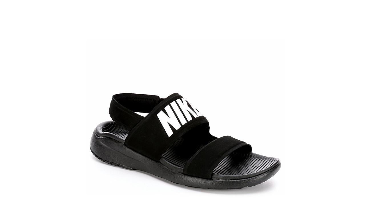 Nike Womens Tanjun Sandal - Black