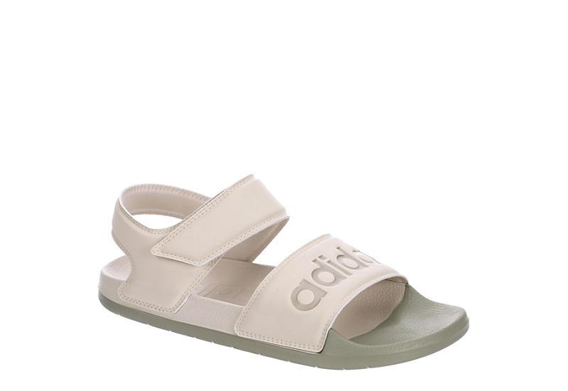Huracán Útil grava  Taupe Adidas Womens Adilette Sandal | Sandals | Rack Room Shoes