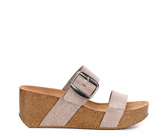 Womens Daisy Wedge Sandal