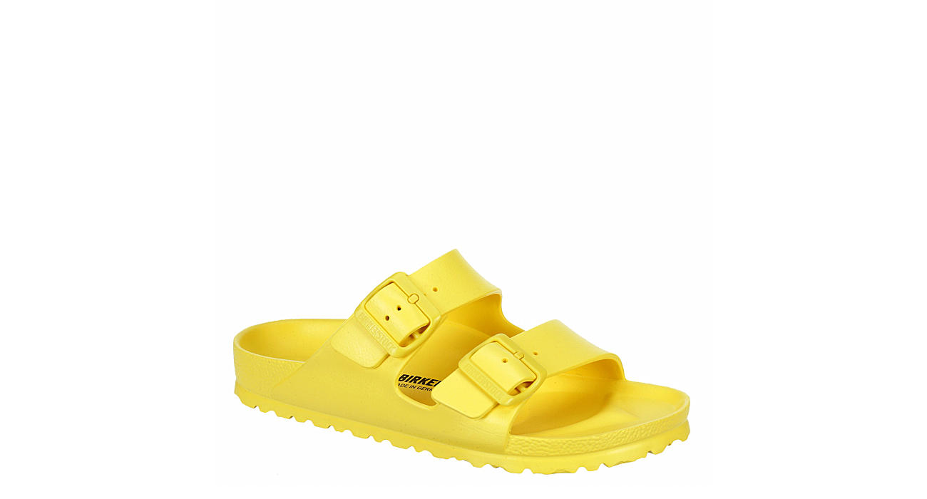BIRKENSTOCK Womens Arizona Essentials Slide Sandal - YELLOW