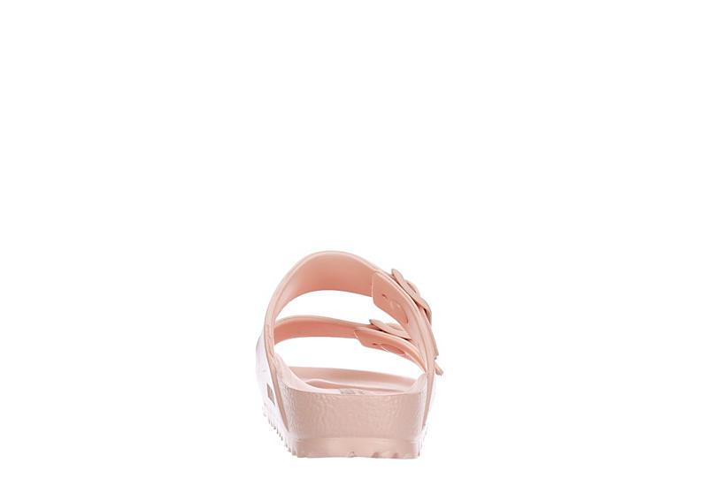 BIRKENSTOCK Womens Arizona Essentials Slide Sandal - BLUSH