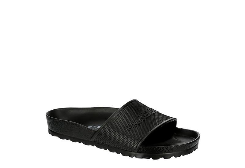 BIRKENSTOCK Womens Barbados Slide Sandal - BLACK