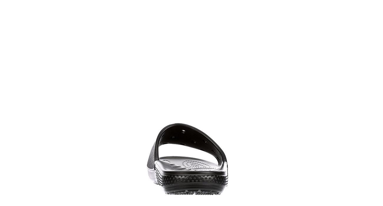 CROCS Womens Classic Slide Sandal - BLACK