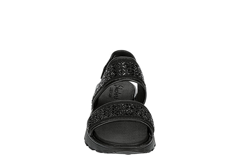 SKECHERS CALI GEAR Womens Footsteps - Glam Party - BLACK