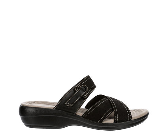 Womens Alexis Art Slide Sandal