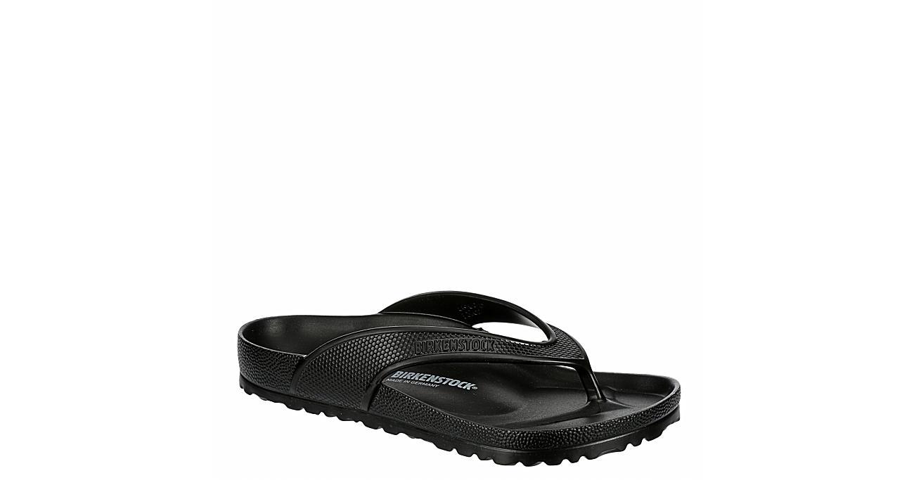 BIRKENSTOCK Womens Honolulu Flip Flop Sandal - BLACK