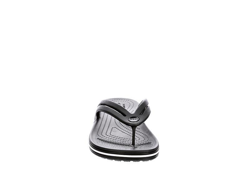 CROCS Womens Crocband Flip Flop Sandal - BLACK