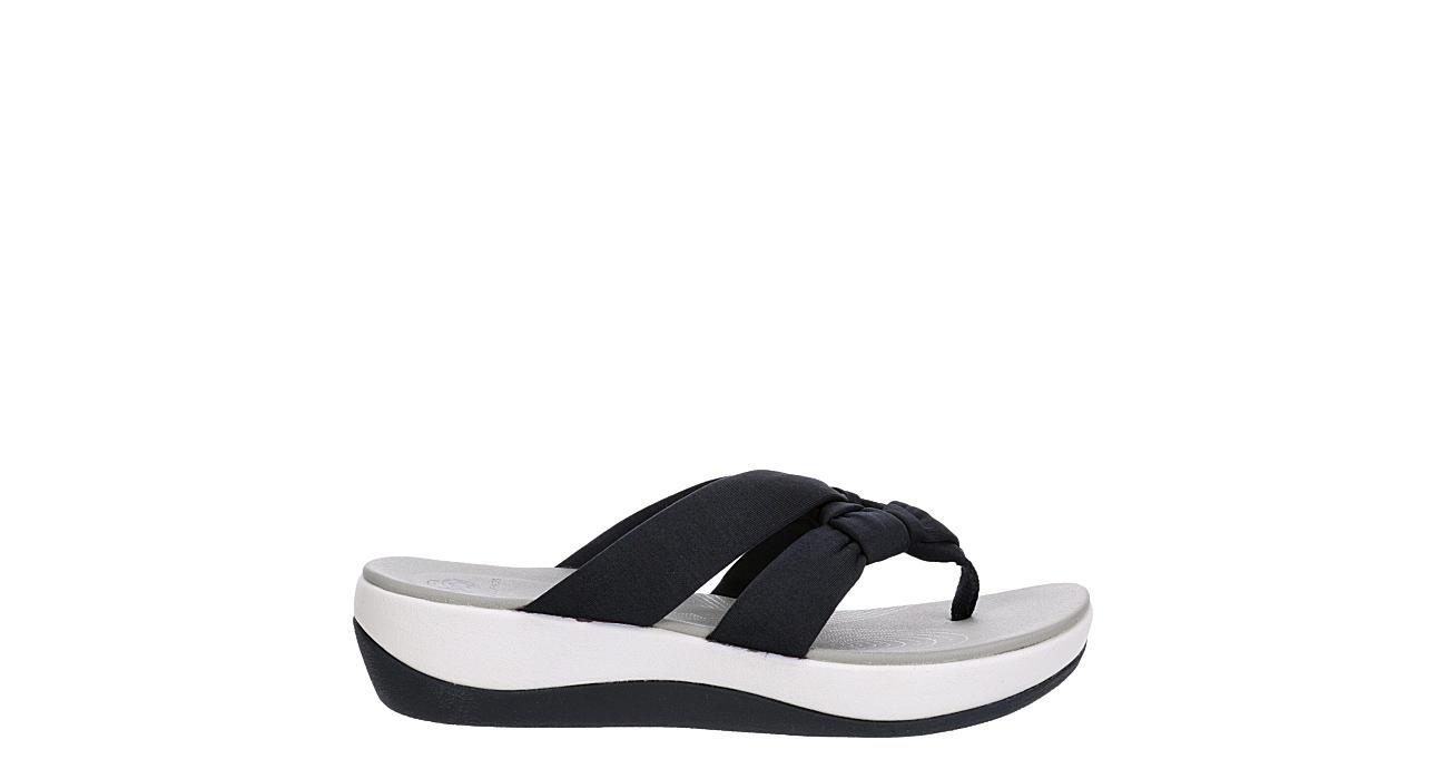 CLARKS Womens Arla Jane Flip Flop Sandal - NAVY