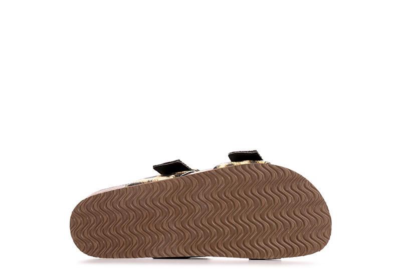 MADDEN GIRL Womens Bambamm Footbed Sandal - OLIVE