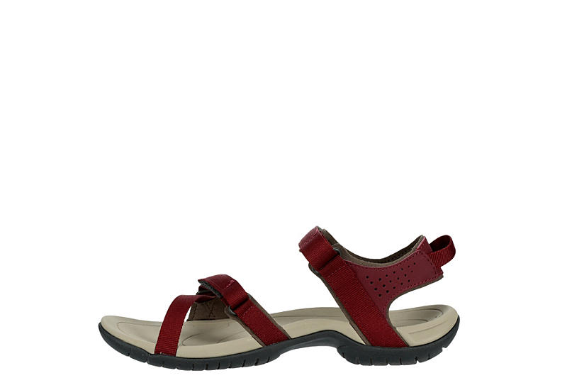 TEVA Womens Verra Outdoor Sandal - BURGUNDY