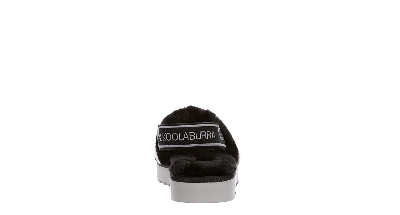 KOOLABURRA by UGG Womens Fuzzn - BLACK