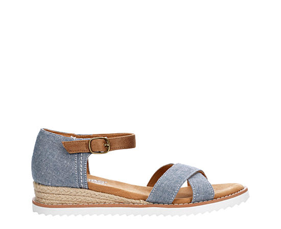Womens Party Crashers Wedge Sandal