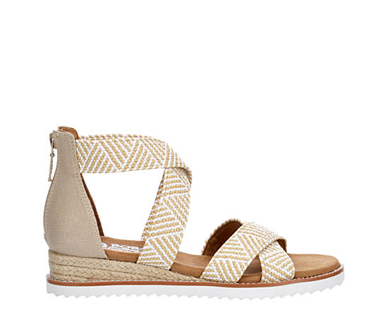 Womens Summer Sun Wedge Sandal
