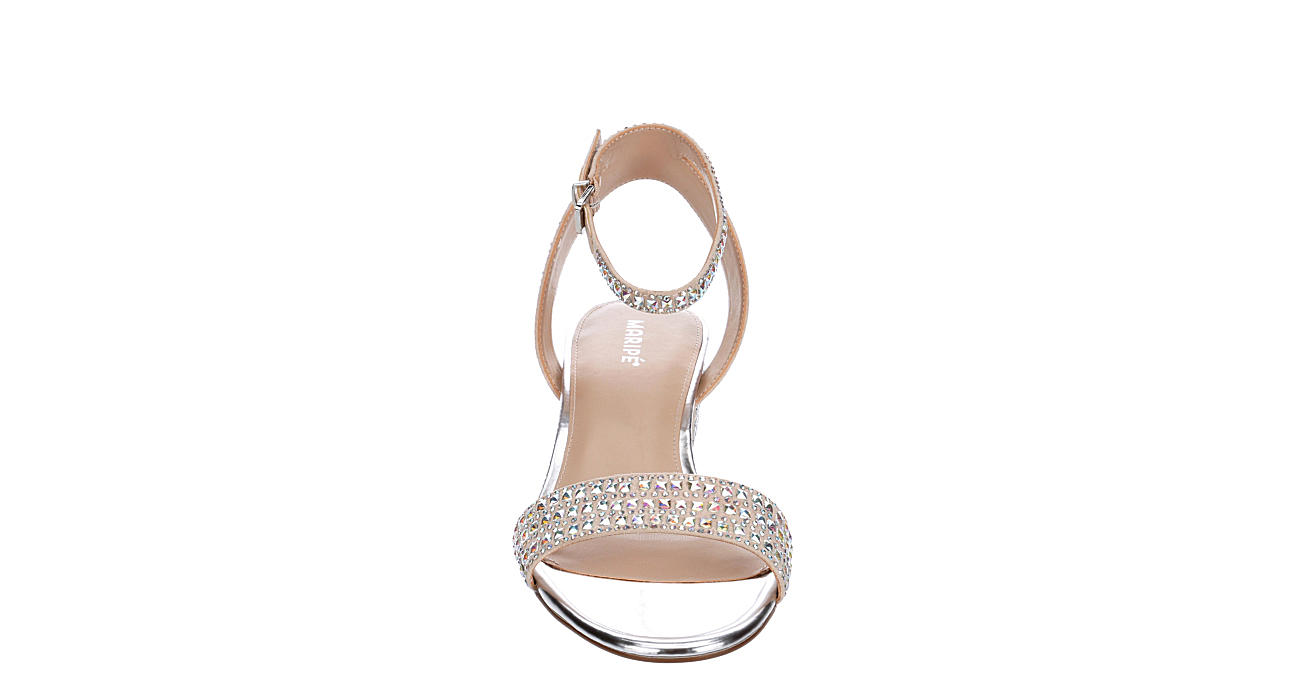 MARIPE Womens Strut Sandal - PALE PINK