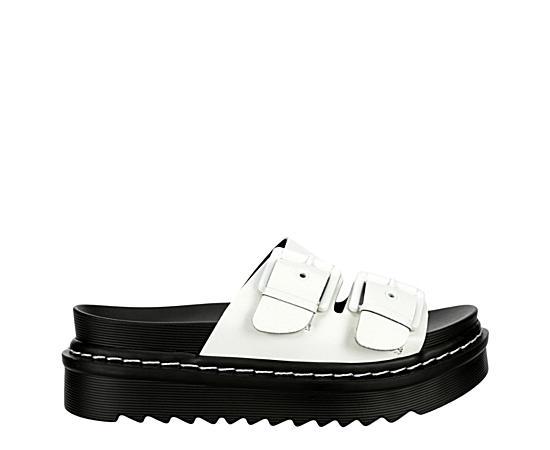 Womens Dizzy Platform Slide Sandal
