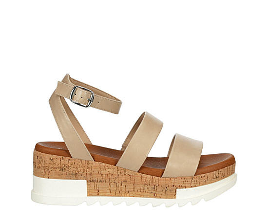 Womens Ellinore Wedge Sandal