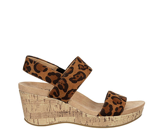 Womens Delaney Casual Wedge Sandal