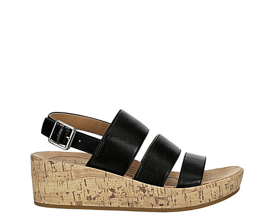 Womens Wyonna Casual Wedge Sandal