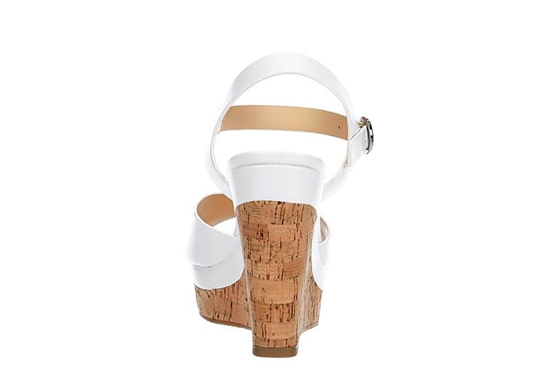 XAPPEAL Womens Kara Wedge Sandal - WHITE