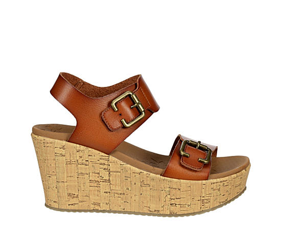 Womens Brit Go Getter Wedge Sandal