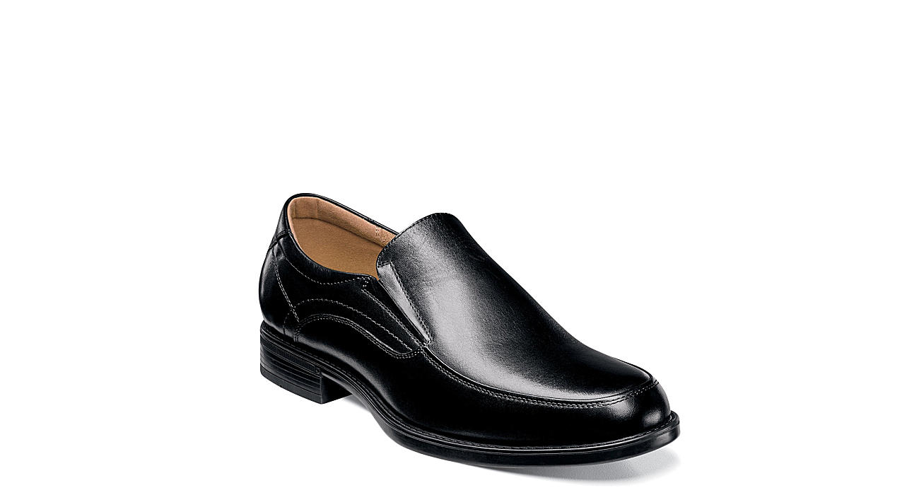 FLORSHEIM Mens Midtown Moc Toe Slip On - BLACK