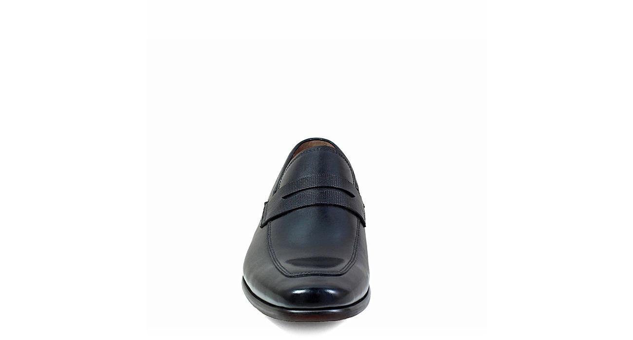 FLORSHEIM Mens Scottsdale Moc Toe Penny - BLACK