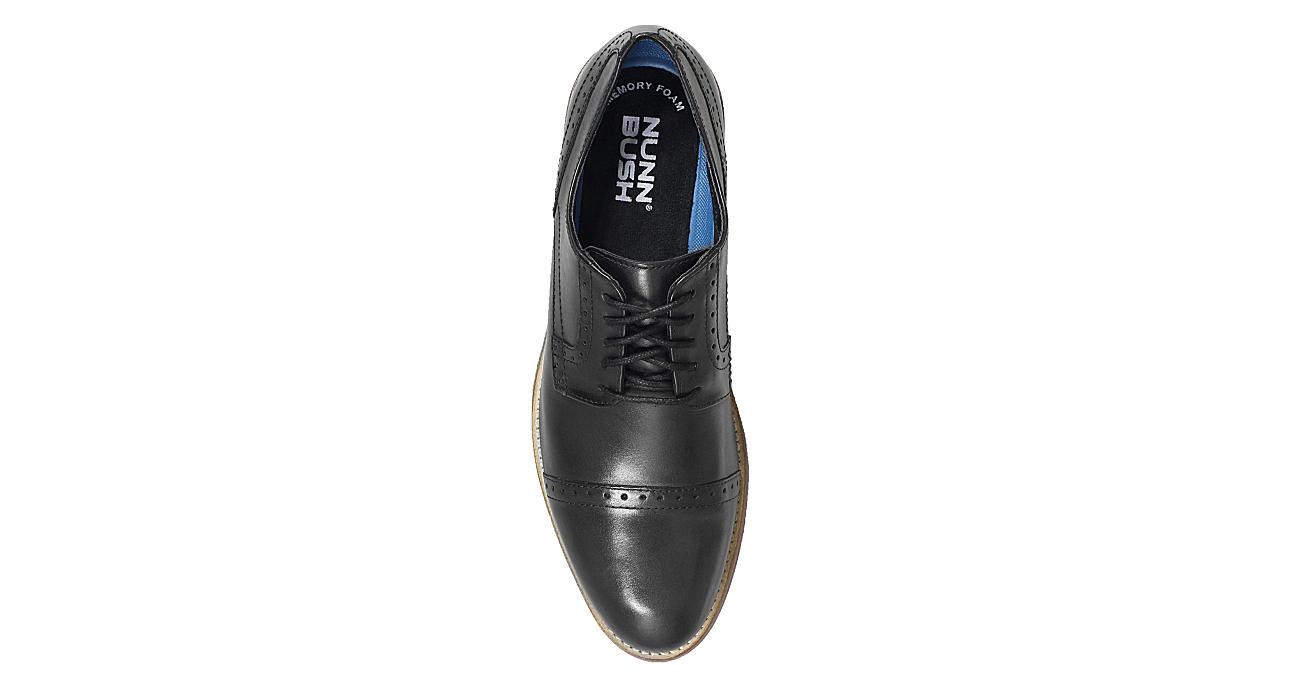b85b27037a921 Black Nunn Bush Mens Middleton Cap Toe | Dress | Rack Room Shoes