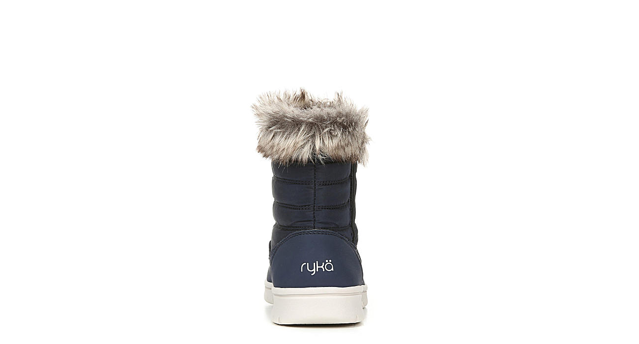 RYKA Womens Suzy Fur Boot - NAVY